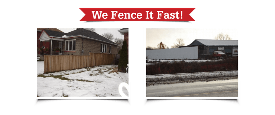 We Fence It Fast! | Fences in Peterborough
