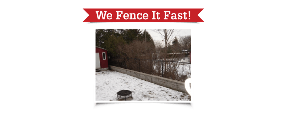 We Fence It Fast! | Chain-link fence
