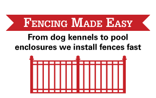 Fencing Made Easy | From dog kennels to pool enclosures we install fences fast